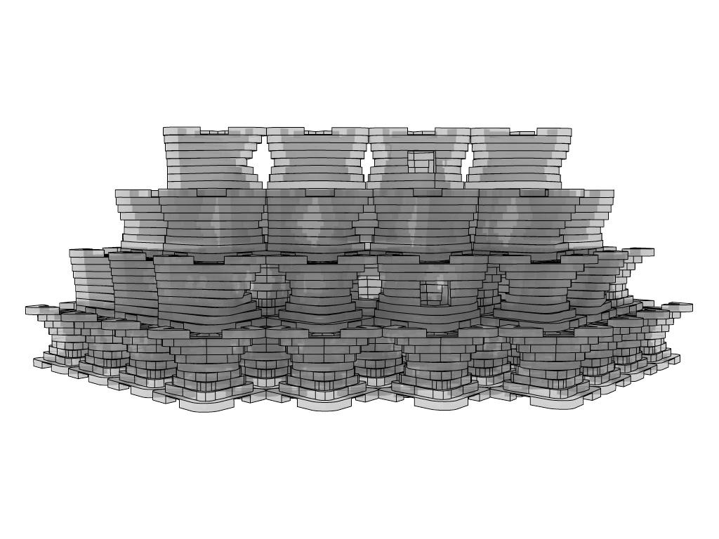 Sculpted Modular Living Shoreline System