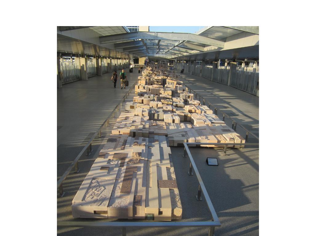 Uplifted Ground At Austin Airport Michael Singer Studio